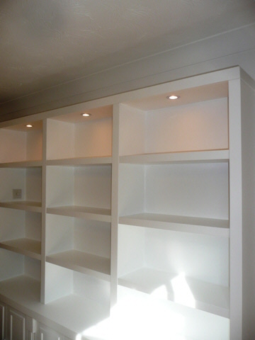 Cambridge design shelves