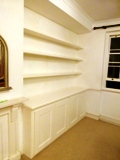 Bayswater fitted made to measure floating shelves